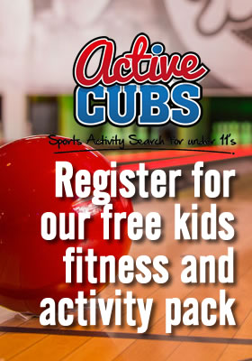 Register today for our free kids fitness and activity pack. A great tool to help get your cubs fit.