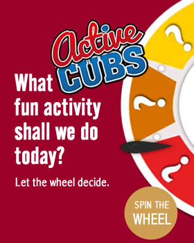 What activity should we do today? Click/Touch our fun kids activity wheel to decide.