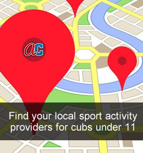 Find your local sport activity providers for cubs under 11