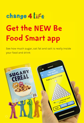 Download the Food Smart app for free. A great tool to help keep the family fit and healthy.